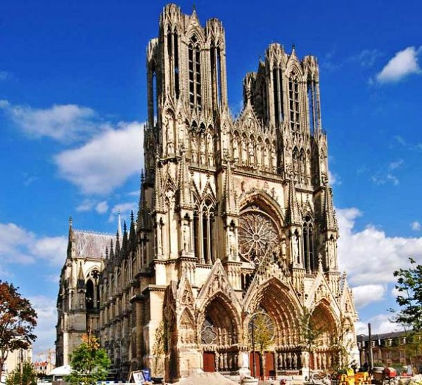 Reims Catedral, Francia