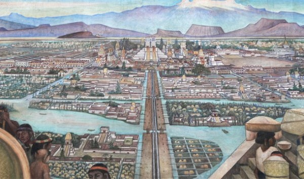 capital Tenochtitlan